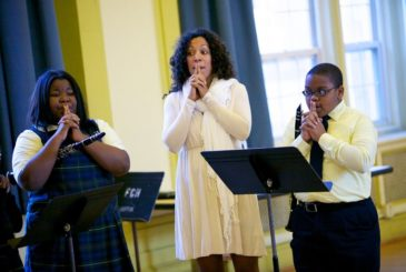 Imani Winds at St. Frances de SalesImani Winds at St. Frances de Sales