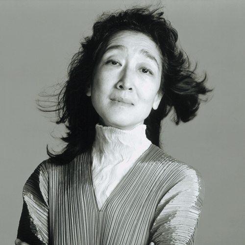 Mitsuko listening to the music