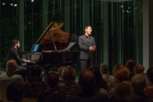 Nicholas Phan performs at the Collaborative Works Festival with Michael Brown, piano