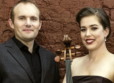 J & Rachel Freivogel of the Jasper Quartet