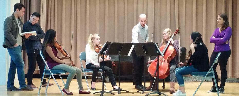 Dover Quartet masterclass